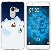 HTC One X10 Silicone Case Christmas X Mas M6