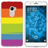 HTC One X10 Silicone Case pride M6