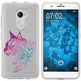 HTC One X10 Silicone Case floral M2-6