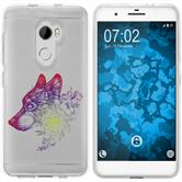 HTC One X10 Silicone Case floral M3-5