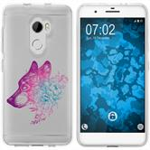 HTC One X10 Silicone Case floral M3-6