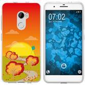 HTC One X10 Silicone Case autumn M2