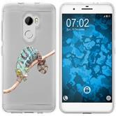 HTC One X10 Silicone Case vector animals M7