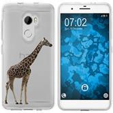 HTC One X10 Silicone Case vector animals M8