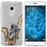 HTC One X10 Silicone Case vector animals M9