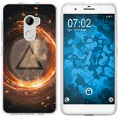 HTC X10 Silicone Case Element fire M3