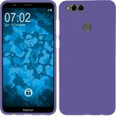 Silicone Case Honor 7x matt purple Case