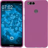 Silicone Case Honor 7x matt hot pink Case