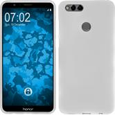 Silicone Case Honor 7x matt white Case