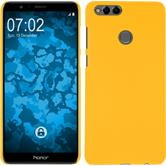 Hardcase Honor 7x rubberized yellow Case