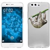 Huawei P10 Silicone Case vector animals sloth M6
