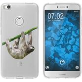Huawei P8 Lite 2017 Silicone Case vector animals sloth M6