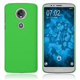 Hardcase Moto E5 Plus rubberized green Case