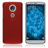 Hardcase Moto E5 Plus rubberized red Case