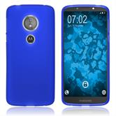 Silicone Case Moto E5 (5th Gen) matt blue Case
