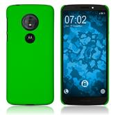 Hardcase Moto G6 Play rubberized green Cover