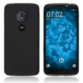 Silicone Case Moto G6 Play matt black Case
