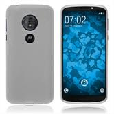 Silikon Hülle Moto G6 Play matt clear Case