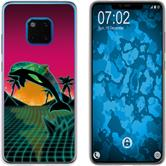 Huawei Mate 20 Pro Silicone Case Retro Wave M1