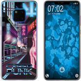Huawei Mate 20 Pro Silicone Case Retro Wave M4