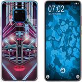 Huawei Mate 20 Pro Silicone Case Retro Wave M5