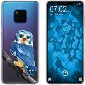Huawei Mate 20 Pro Silicone Case vector animals M1
