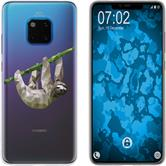 Huawei Mate 20 Pro Silicone Case vector animals sloth M6