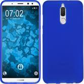 Silikon Hülle Mate 10 Lite matt blau Case