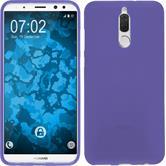 Silicone Case Mate 10 Lite matt purple Case