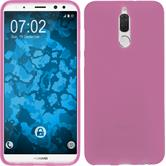Silicone Case Mate 10 Lite matt hot pink Case