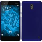 Hardcase Nokia 2 rubberized blue Case