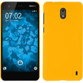 Hardcase Nokia 2 rubberized yellow Case
