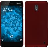 Hardcase Nokia 2 rubberized red Case