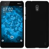 Hardcase Nokia 2 rubberized black Case