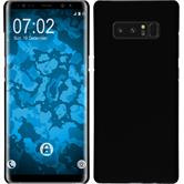 Hardcase Galaxy Note 8 rubberized black + Flexible protective film