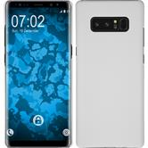 Hardcase Galaxy Note 8 rubberized white + Flexible protective film