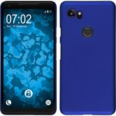 Hardcase Pixel 2 XL rubberized blue Case