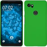 Hardcase Pixel 2 XL rubberized green Case