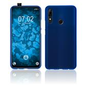 Silicone Case P Smart Z matt blue Cover