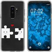 Samsung Galaxy S9 Silicone Case in Love M1