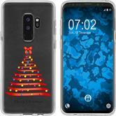 Samsung Galaxy S9 Silicone Case Christmas X Mas M1