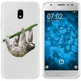 Samsung Galaxy J3 2017 Silicone Case vector animals sloth M6