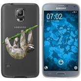 Samsung Galaxy S5 Neo Silikon-Hülle Vektor Tiere  M6