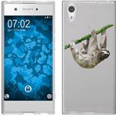 Sony Xperia XA1 Silicone Case vector animals sloth M6