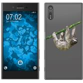 Sony Xperia XZs Silicone Case vector animals sloth M6