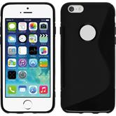 Silicone Case for Apple iPhone 6 S-Style black