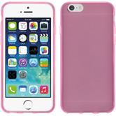 Silicone Case for Apple iPhone 6 transparent pink