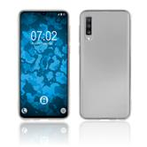 Silicone Case Galaxy A70 transparent Crystal Clear Cover