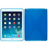 Silicone Case for Apple iPad Air X-Style blue