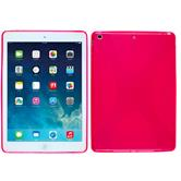 Silicone Case for Apple iPad Air X-Style hot pink